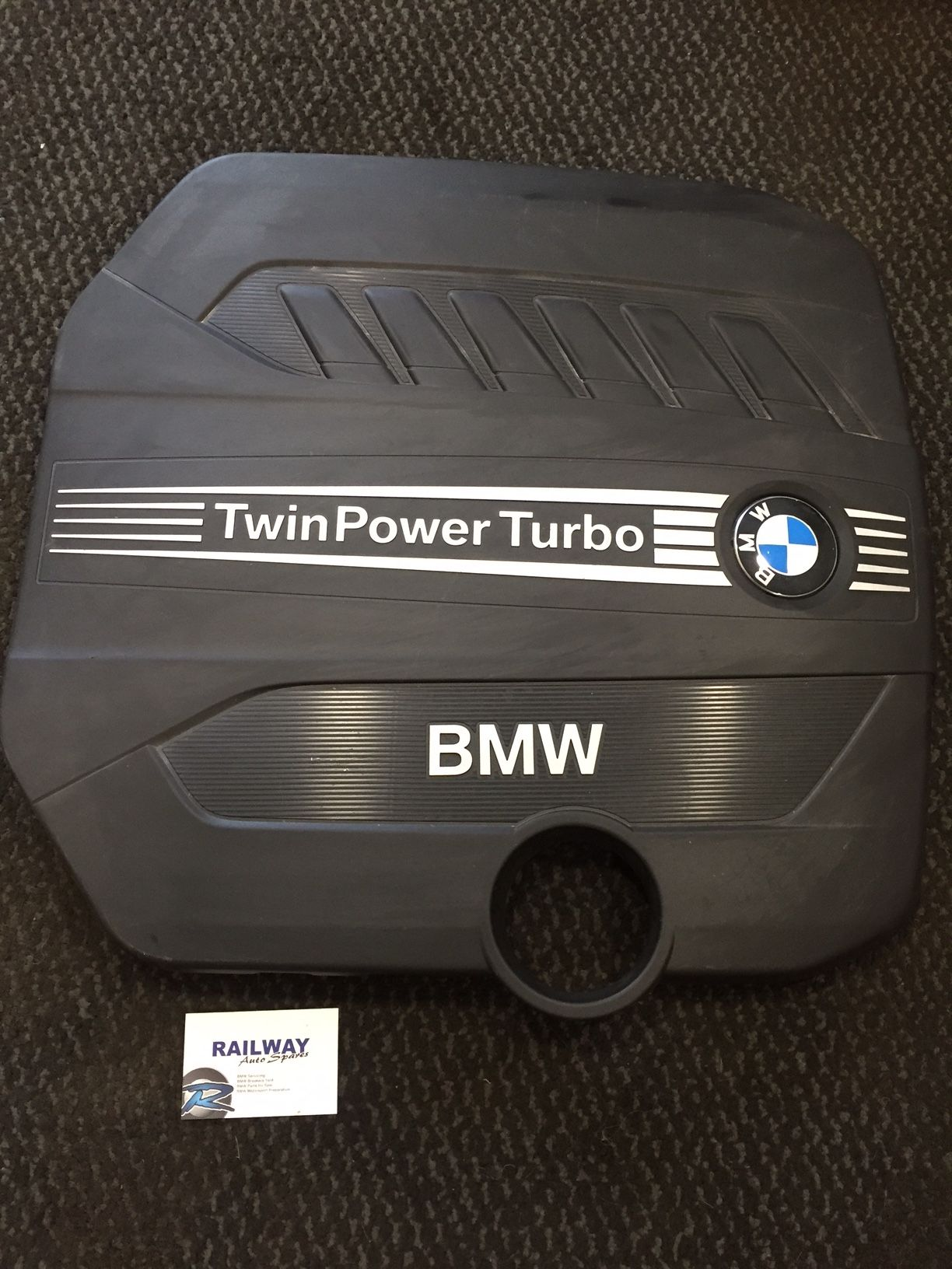 BMW F31 F30 12-18 435d 430d 335d 330d ENGINE COVER ACCOUSTIC COVER N57N  8511484 #17 *281