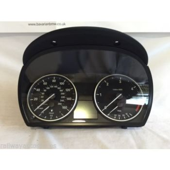 BMW 3 SERIES E90 E91 E92 E93 DIESEL MANUAL DASH CLOCKS INSTRUMENT CLUSTER SPEEDO 9187061 B49A *43