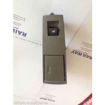 BMW E65 01-05 7 SERIES DRIVER'S SIDE REAR WINDOW SWITCH & ASHTRAY FINISHER 8379597 7024490 B42A