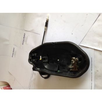 BMW E60 E61 03-10 5 SERIES LEFT FRONT DOOR HANDLE CARRIER & CABLE 51217034543 51217034469 B43A B99A *280