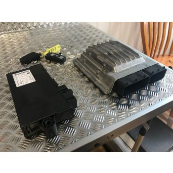 BMW E90 E91 E92 E93 2009 318i ENGINE ECU KIT N43 MANUAL DME CAS 3 + Key 7595179 5WK93727 MSD81.2 B242 *257