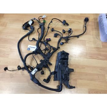 BMW 2012 3 SERIES F30 320D ENGINE WIRING LOOM WIRING HARNESS N47N AUTO 8507899 B274 *354A