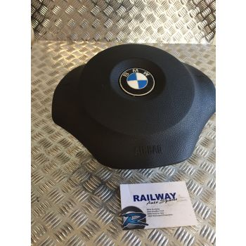 BMW 2007 1 SERIES E87 LCI 116I STEERING WHEEL AIRBAG BMW 1 SERIES E81 E82 E87 E88 6775155 B317 *304