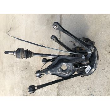 BMW F21 F20 2016 120d LEFT REAR SUSPENSION CORNER HUB DRIVE SHAFT DISC CALLIPER ARMS 7597681 #33 *282