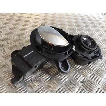 OEM 2002 MINI ONE R50 RIGHT INTERIOR DOOR HANDLE & SPEAKER TWEETER 1502074 65136919451 B283 *318
