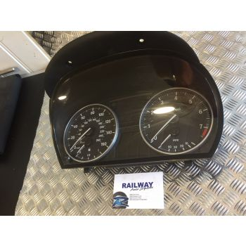 BMW E92 3 SERIES E92 2007 320I DASH CLOCKS MANUAL SPEEDO INSTRUMENT CLUSTER 9143820 B157 *278