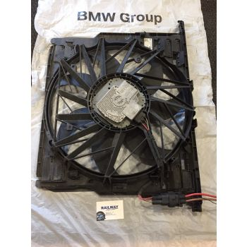 BMW F07 F10 F11 2010-2016 520d 530d RADIATOR FAN RAD FAN PUSHER FAN 400W N47N N57 8509740 #17
