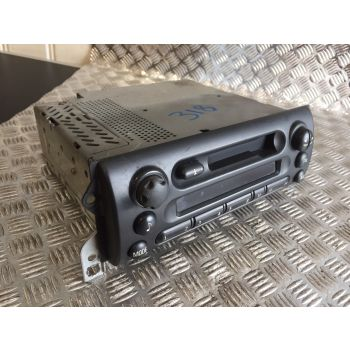BMW MINI COOPER ONE R50 TAPE DECK RADIO STEREO CASSETTE PLAYER 6921593 B360