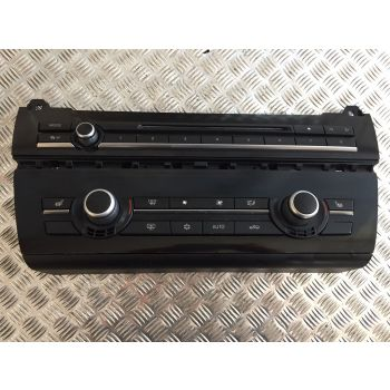 BMW 2009-2013 5 SERIES F10 CLIMATE CONTROL AIR CON HEATED SEAT RADIO PANEL 9249708 B355 B29A B224 *352