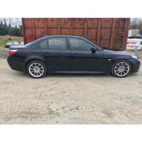 BMW E60 5 SERIES 2007 520D 6 SPEED MANUAL BLACK SAPPHIRE PARTS SPARES BREAKING QUOTE *250
