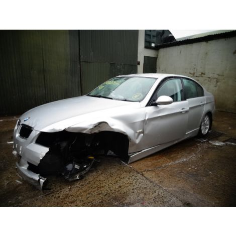 BMW E90 2005 320D SE SALOON 6 SPEED MANUAL  TITAN SILVER PARTS SPARES BREAKING QUOTE *165