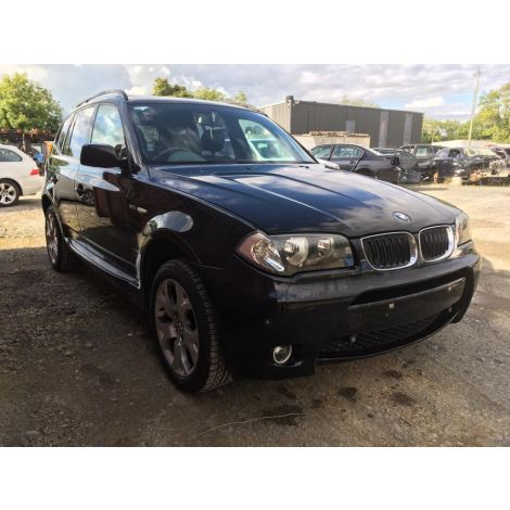 BMW E83 2005 X3 3.0i M-SPORT 6 SPEED AUTO BLACK SAPPHIRE PARTS SPARES BREAKING QUOTE *235