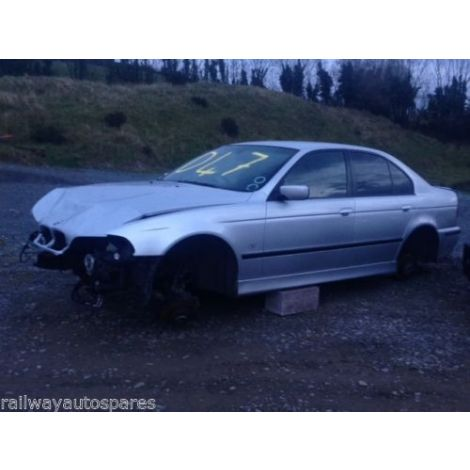 BMW E39 5 SERIES 1999 530d 5 SPEED AUTO TITAN SILVER PARTS SPARES BREAKING QUOTE *47