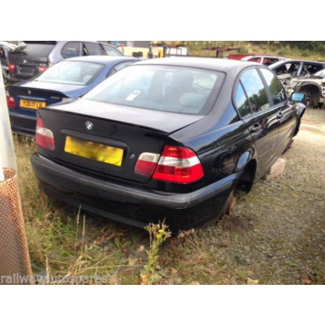 BMW E46 2003 316i SALOON 5 SPEED MANUAL  SCHWARZ PARTS SPARES BREAKING QUOTE *72