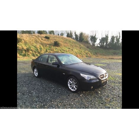 BMW E60 2005 530i SALOON LEFT HAND DRIVE SCHWARZ 2 PARTS SPARES BREAKING QUOTE *92