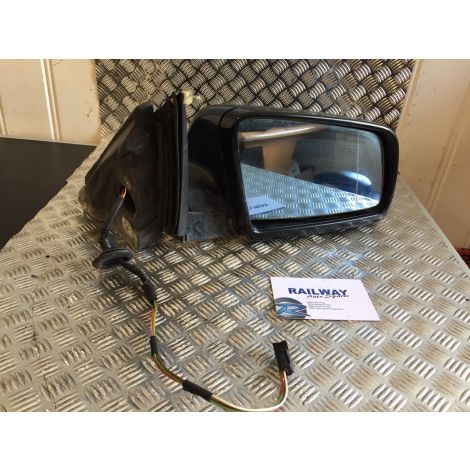 BMW 2004 5 SERIES E61 DRIVER SIDE WING MIRROR RIGHT DOOR MIRROR MYSTIC BLUE Y190 *342