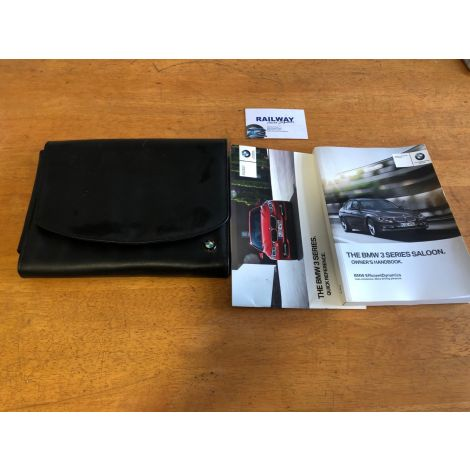 OEM BMW 2012 3 SERIES F30 HANDBOOK HANDBOOKS OWNERS MANUAL WALLET B140 *404