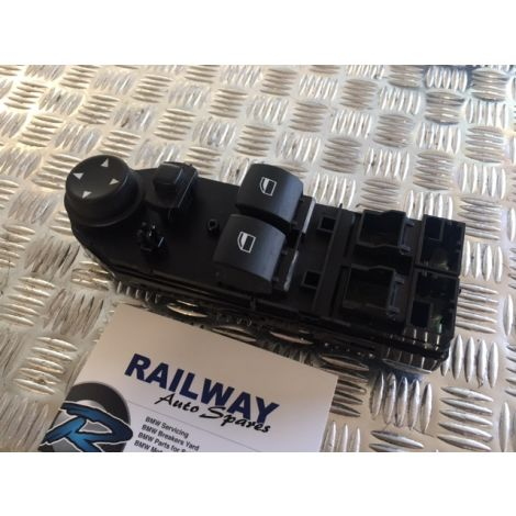 BMW E63 03-2005 6 SERIES DRIVER SIDE WINDOW SWITCH LIFTER SWITCH DRIVER SIDE 6939128 61316939128 B333 *198