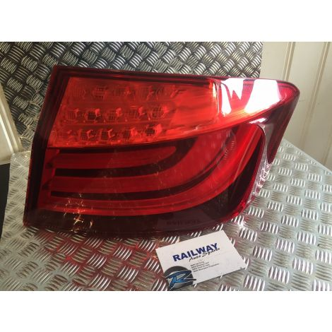 BMW 10-13 5 SERIES F10 REAR RIGHT LIGHT CLUSTER DRIVER SIDE TAIL LIGHT LED 7203230 #202 *293