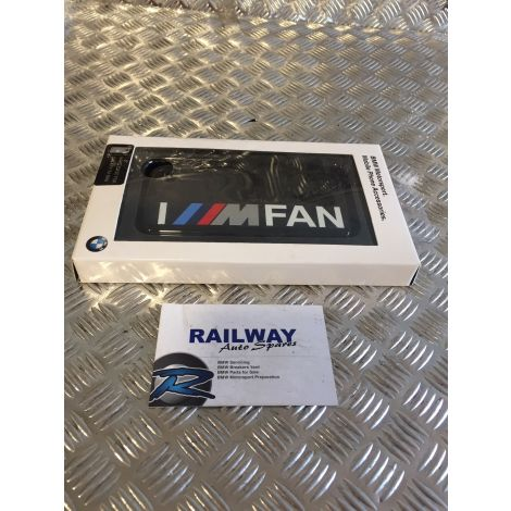 NEW GENUINE BMW MOTORSPORT SAMSUNG GALAXY S4 MINI HARD CASE PHONE COVER 2358089 B259