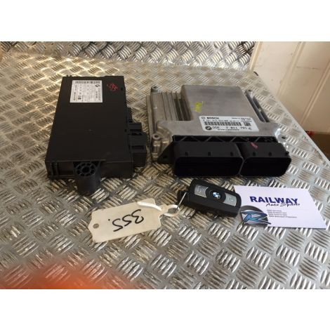BMW 1 3 Series E81 E87 E90 E91 118d 318d ENGINE ECU KIT MANUAL N47 0281015042 DDE 7811701 B115*166
