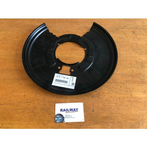 NEW OEM BMW 3 SERIES E46 X3 E83 REAR RIGHT BRAKE DISC PROTECTION PLATE 1166108 NS
