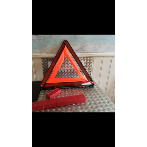 OEM BMW 2012 Z4 E89 E90 E91 SAFETY WARNING TRIANGLE & CONTAINER 6770487 B186 B268