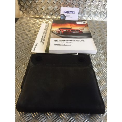 BMW F22 2 SERIES COUPE OWNERS MANUAL OWNER HANDBOOKS HANDBOOK B400