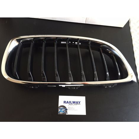 NEW GENUINE 2012-2019 4 SERIES RIGHT BUMPER GRILL KIDNEY GRILLE CHROME/BLACK 51712336814 2336814